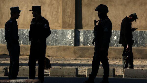 Afghan National Police - Sputnik International