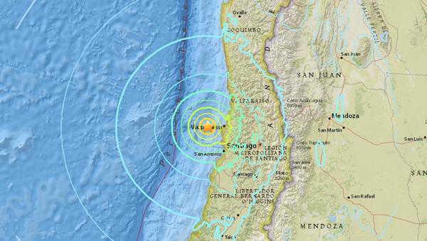 Chile Earthquake - Sputnik International