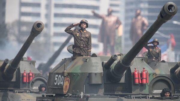 Military parade in North Korea - Sputnik International