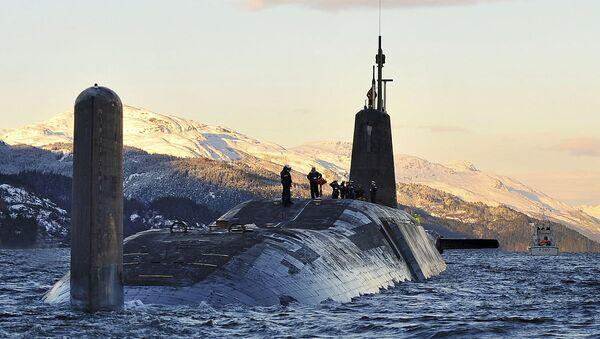 Nuclear Submarine HMS Vanguard Returns to HMNB Clyde, Scotland MOD - Sputnik International