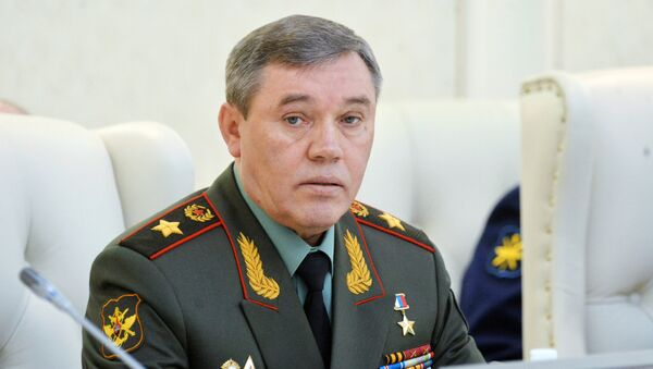General of the Army Valery Gerasimov, Commander of the General Staff of the Russian Federation - Sputnik International