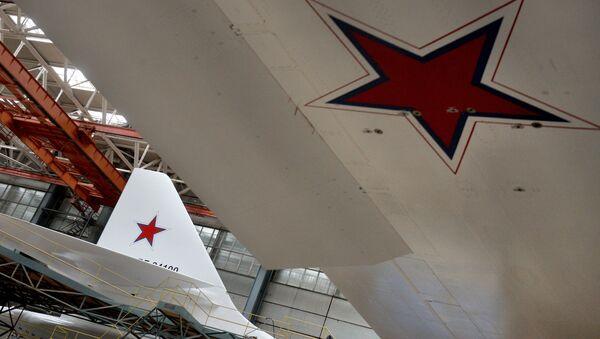 Overhaul of Tu-160 planes at Kazan Aircraft Plant. File photo - Sputnik International