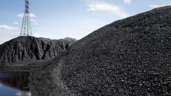 Piles of coal - Sputnik International
