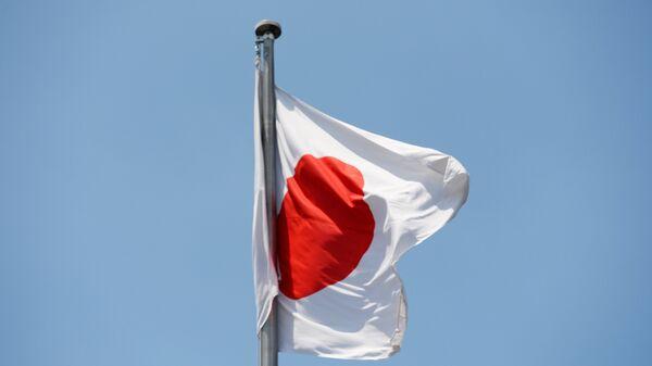 The state flag of Japan. - Sputnik International