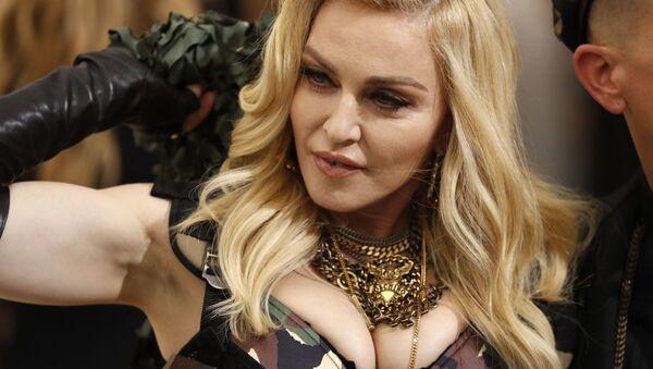 Певица Мадонна на балу Института костюма Met Gala в Нью-Йорке  - Sputnik International