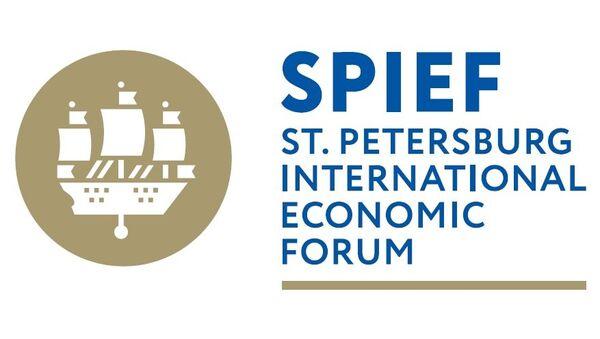The official logo of the St. Petersburg International Economic Forum 2017 - Sputnik International