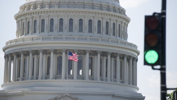 The US Capitol is seen in Washington, DC, April 28, 2017 - Sputnik International