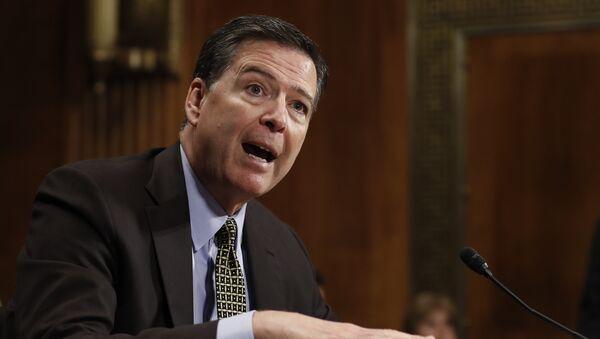 FBI Director James Comey - Sputnik International