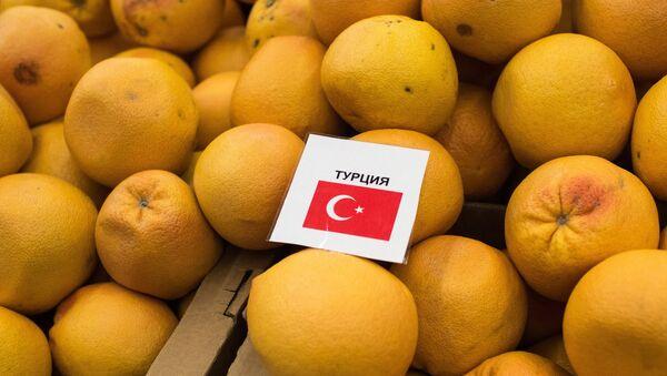 Turkish tangerines on sale in Omsk - Sputnik International
