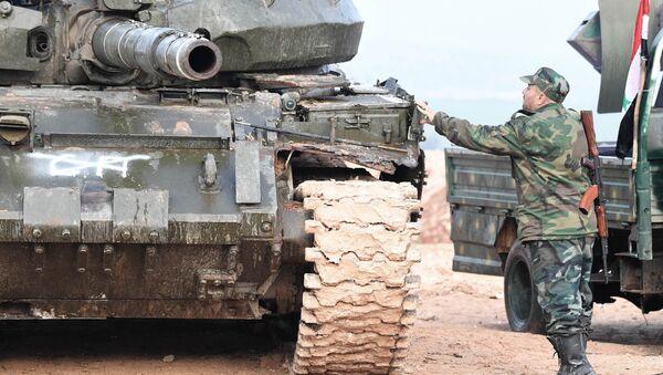 Syrian army troops (File) - Sputnik International