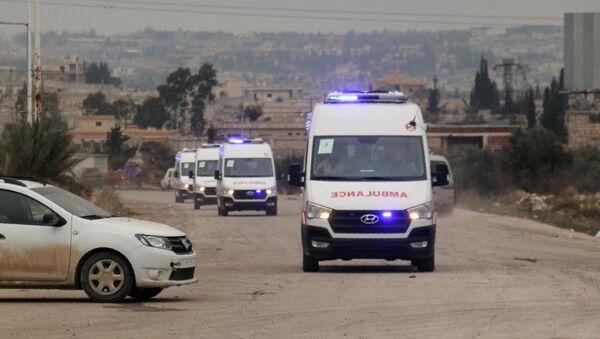 Ambulances, Syria - Sputnik International