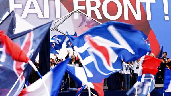 The leader of France's rightwing Front National (FN), Marine Le Pen. (File) - Sputnik International