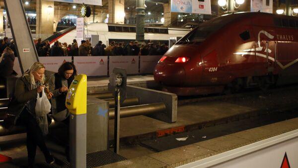 Gare du Nord Train Station - Sputnik International