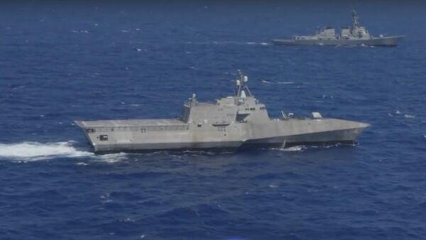 USS Coronado - Sputnik International