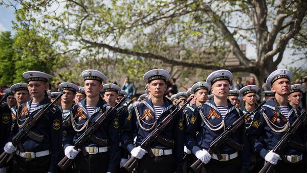 The Victory Day parade in Crimea's Sevastopol - Sputnik International