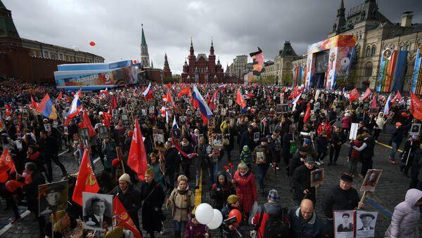 'Immortal Regiment' March in Moscow - Sputnik International