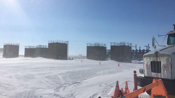 Oil well on Alaska's frozen North Slope. (File) - Sputnik International