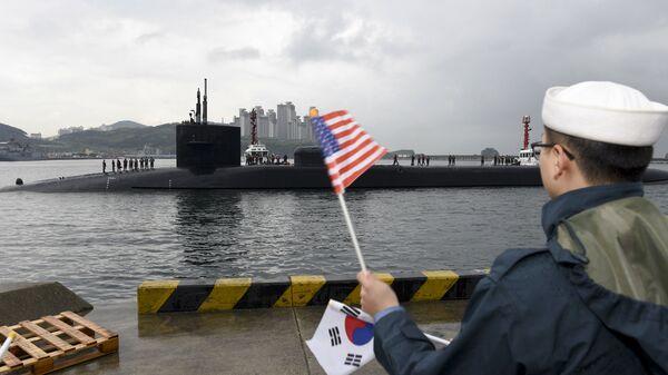 Korea Nuclear Submarine - Sputnik International
