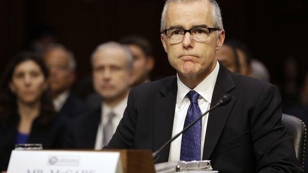 Acting FBI Director Andrew McCabe - Sputnik International