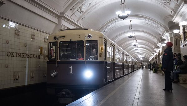 When the Trains Go Marching In: Moscow Metro Celebrates 82nd Anniversary - Sputnik International