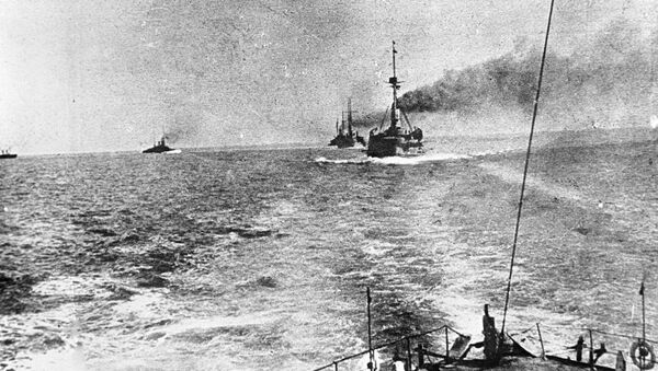 Warships pf the Russian Navy's Black Sea Fleet during World War One - Sputnik International
