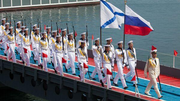 Celebrating Russian Navy Day in the Black Sea Fleet (Sevastopol) - Sputnik International