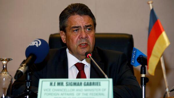 German Foreign Minister Sigmar Gabriel (File) - Sputnik International