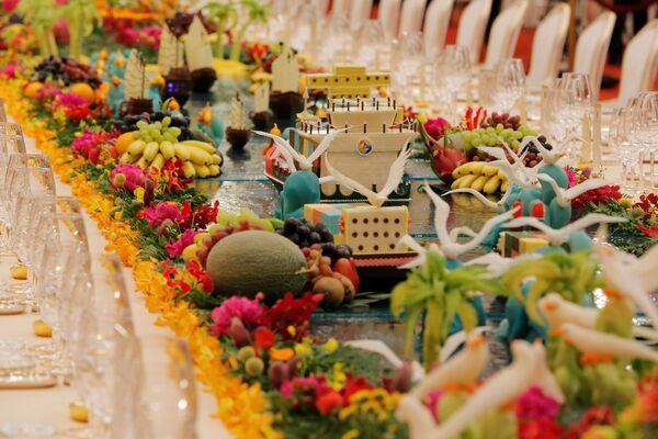 The Art of Hospitality: China Welcomes World Leaders at 'One Belt, One Road' Gala Dinner - Sputnik International