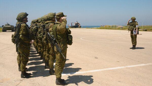 Joint Russian-Syrian military exercise in Tartous - Sputnik International