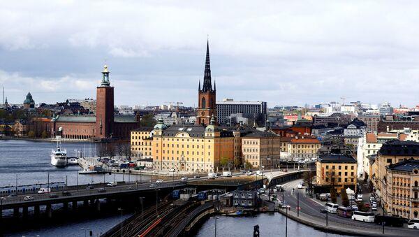 A general view of Stockholm, Sweden, May 8, 2017.  - Sputnik International