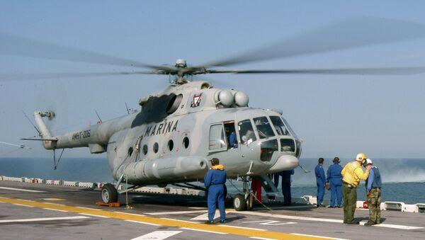 Mexican Navy Mi-8 helicopter - Sputnik International