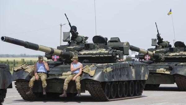 Ukrainian Armed Forces receive 141 units of military machinery - Sputnik International