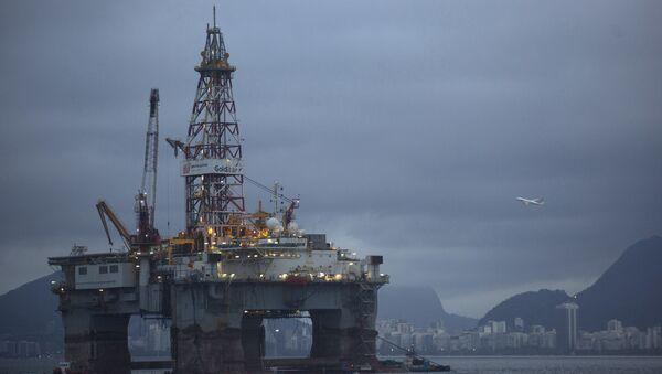 An oil-drilling platform - Sputnik International