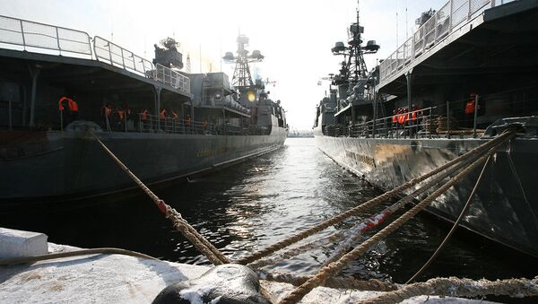 Russian Pacific fleet  - Sputnik International