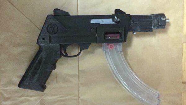 3D-printed gun - Sputnik International