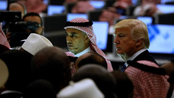 U.S. President Donald Trump (R) and other leaders tour the new Global Center for Combatting Extremist Ideology in Riyadh, Saudi Arabia May 21, 2017 - Sputnik International