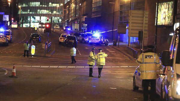 Manchester Explosion Scene - Sputnik International