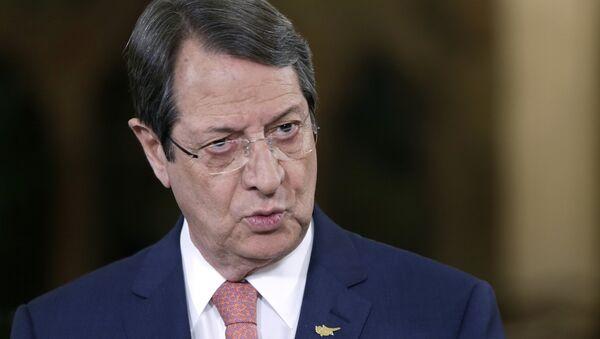 Cypriot President Nicos Anastasiades - Sputnik International