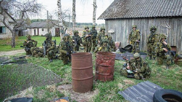 Estonian army during the Spring Storm dril - Sputnik International