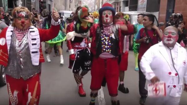 Clown Day 2017 in Peru - Sputnik International