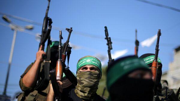 Hamas militants. (File) - Sputnik International