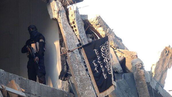 Jabhat al-Nusra fighter (File) - Sputnik International