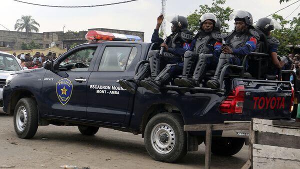 Congolese police. Kinshasa, Congo(File) - Sputnik International