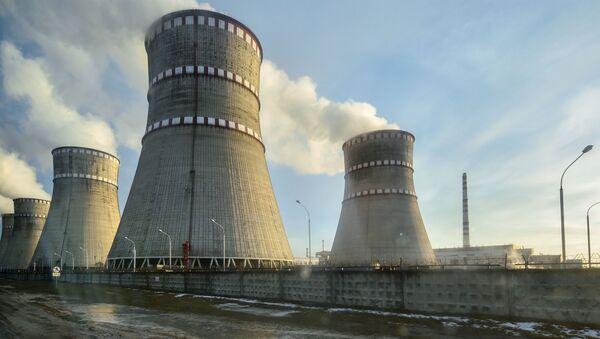 Rovenskaya nuclear power plant in Kuznetsovsk - Sputnik International