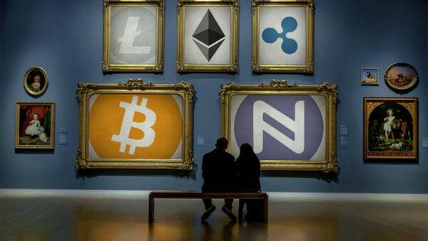 Cryptocurrency Art Gallery - Sputnik International