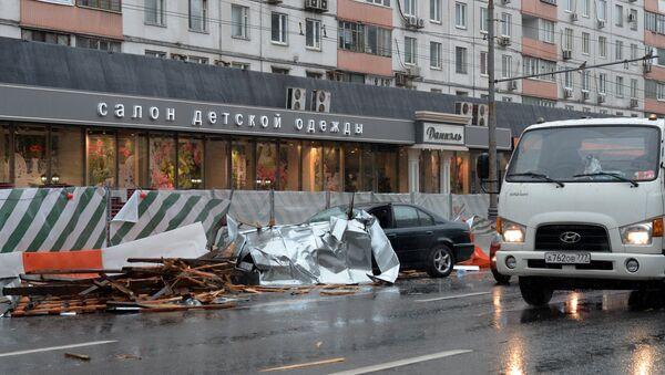 Storm in Moscow - Sputnik International