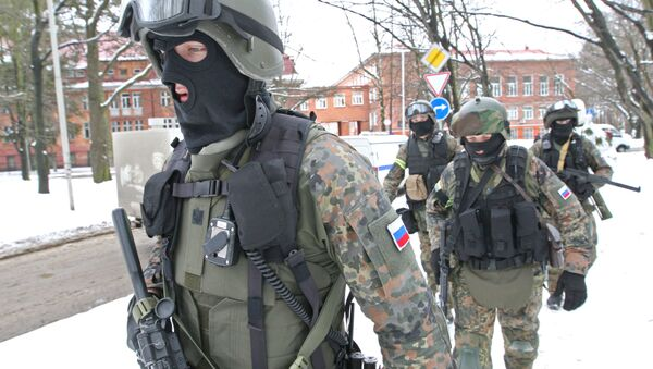 Anti-terrorism exercises of FSB special forces and Russian MVD (Ministry of Internal Affairs) - Sputnik International