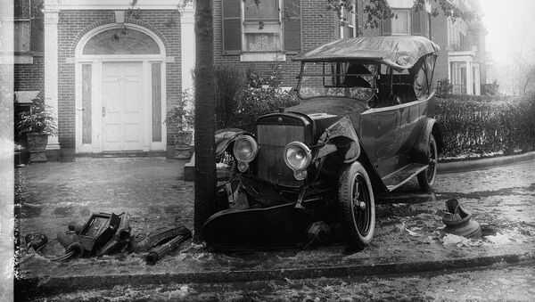 Penrose car, accident - Sputnik International