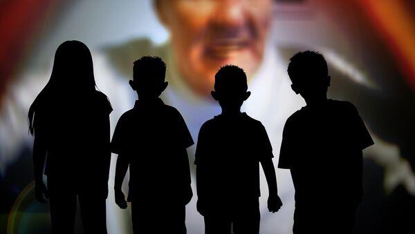 Child abuse - Sputnik International