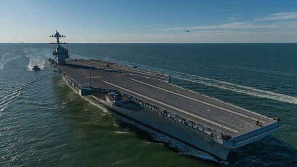 USS Gerald Ford - Sputnik International